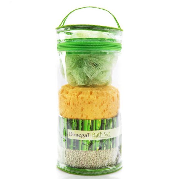 Donegal Baderomssett med svamp, loaf og belte