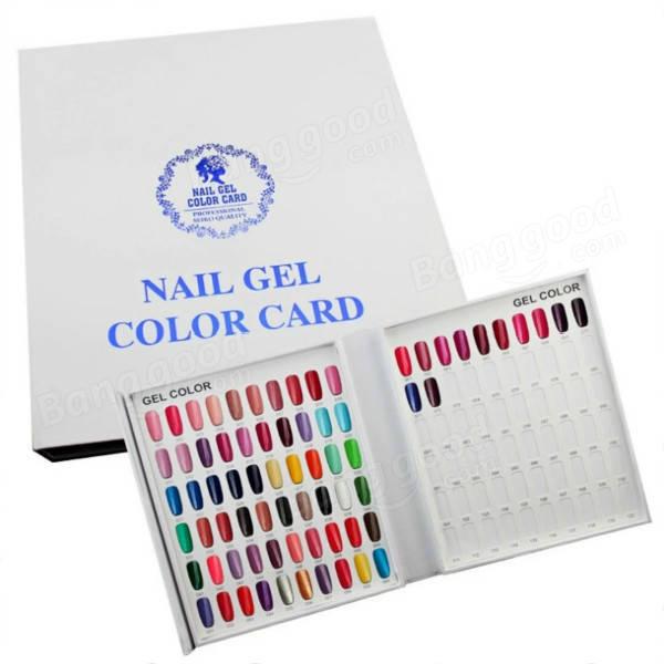Body Green UV-Gel fargekart bok 120 farger