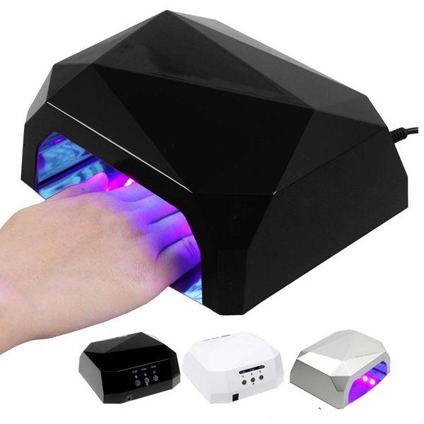 BodyGreen LED Lampe 36W  - For Led og Gellack