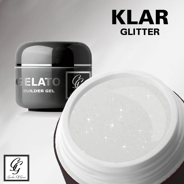 Garden Of Green Builder Gel Klar m/ glitter - 15g
