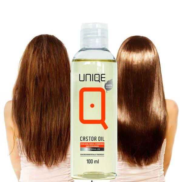 QUIN Castor olje for hud og hår