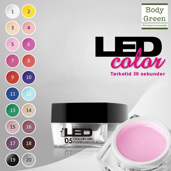 *Garden Of Green LED Color Gel