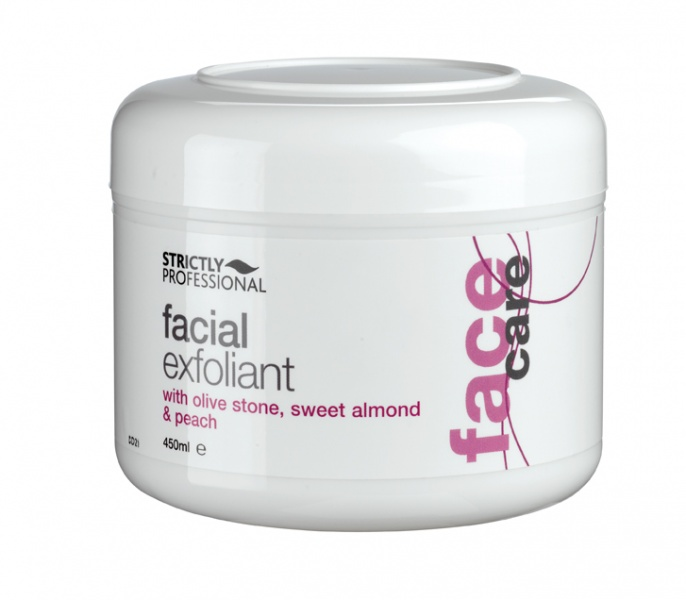 Facial Exfoliant - with olive stone, sweet almond and peach